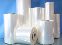 Production of thermo shrinkable PVC film